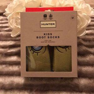 Hunter Accessories - Hunter Alien Kids Boot Socks NWT